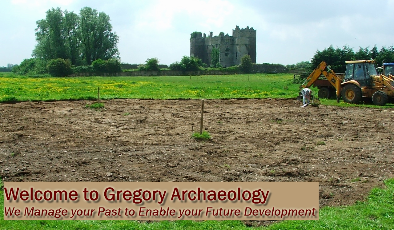 Welcome to Gregory Archaeology - We Manage your Past to Enable your Future Development